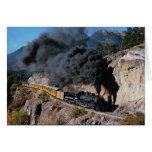 Durango y ferrocarril de Silverton, no. 481, Cree  Tarjeta