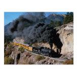 Durango y ferrocarril de Silverton, no. 481, Cree  Tarjetas Postales