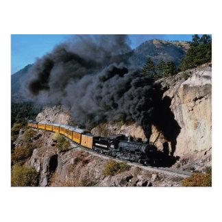 Durango y ferrocarril de Silverton, no. 481, Cree Tarjeta Postal