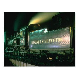 Durango y no. 480 de Silverton presenta en la Postales