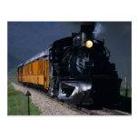 Durango y tren del vapor de Silverton Postal