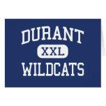 Durant Wildcats Elementary Durant Iowa Greeting Card