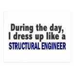 Durante el día me visto para arriba como ingeniero tarjetas postales