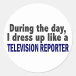 Durante el día me visto para arriba como reportero etiquetas
