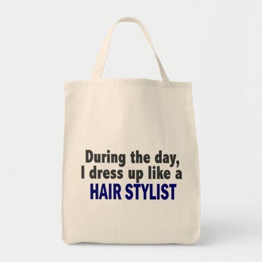 Durante el día me visto para arriba como un estili bolsa tela para la compra