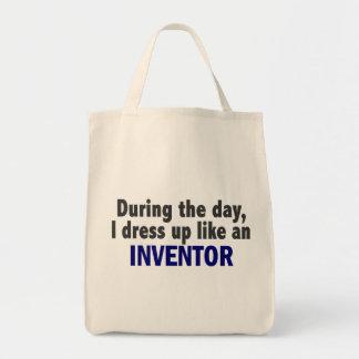 Durante el día me visto para arriba como un invent bolsa tela para la compra