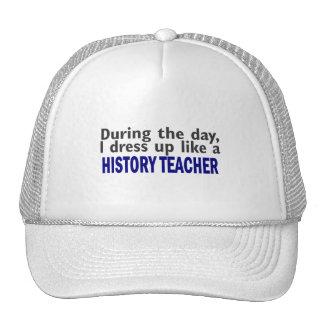 Durante el día (profesor de la historia) gorro de camionero