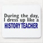 Durante el día (profesor de la historia) tapete de ratones