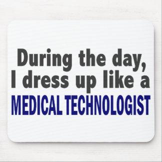 Durante el día visto para arriba al tecnólogo médi tapete de raton