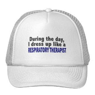 Durante el día visto para arriba al terapeuta resp gorros bordados