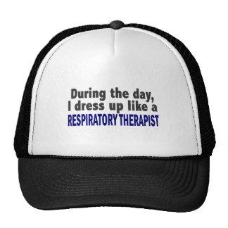 Durante el día visto para arriba al terapeuta resp gorra
