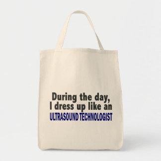 Durante el tecnólogo del ultrasonido del día bolsas de mano
