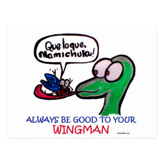 Durante Mamichula Wingman Postcard