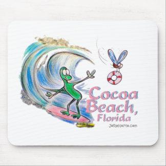 Durante Surfing Cocoa Beach, Florida Mouse Pad