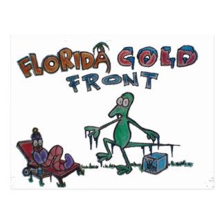 Durante y amigos en el frente frío de la Florida Postal