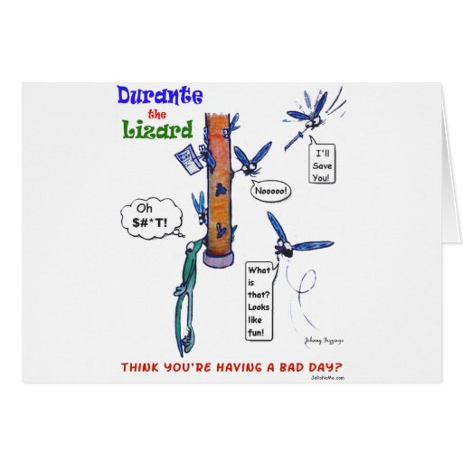 Durante's Bad Day Greeting Card