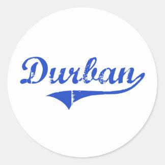 Durban City Classic Round Sticker