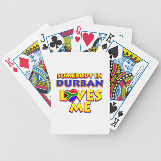 Durban City Designs Bicycle Playing Cards
