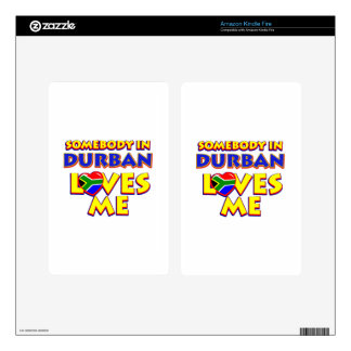 Durban City Designs Kindle Fire Decals