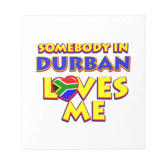 Durban City Designs Notepad