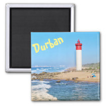 Durban Lighthouse Ocean South Africa Magnet