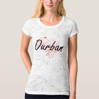 Durban South Africa City Artistic design with butt T-Shirt