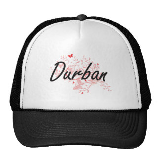 Durban South Africa City Artistic design with butt Trucker Hat