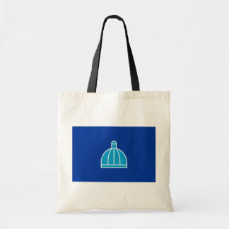 Durban, South Africa flag Budget Tote Bag