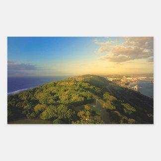 Durban's Bluff, Durban, Kwazulu-Natal Rectangular Sticker