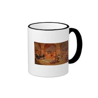 Durbar at Udaipur, Rajasthan, 1855 Ringer Mug