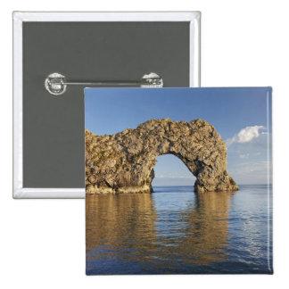 Durdle Door Arch, Jurassic Coast World Heritage 2 Button