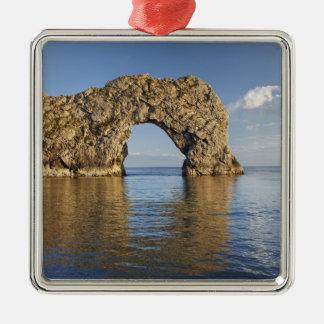 Durdle Door Arch, Jurassic Coast World Heritage 2 Metal Ornament