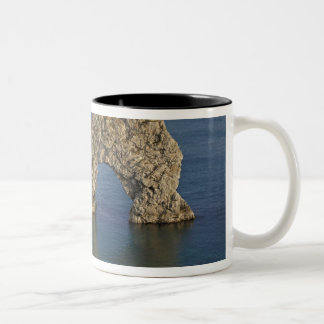 Durdle Door Arch, Jurassic Coast World Heritage 3 Two-Tone Coffee Mug