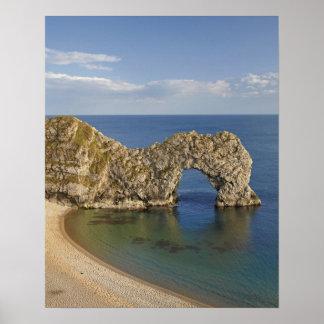 Durdle Door Arch, Jurassic Coast World Heritage Poster