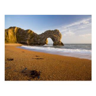 Durdle Door Arch, Lulworth Dorset Postcard