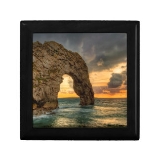 Durdle Door Jurassic Coastline| Dorset, England Keepsake Box