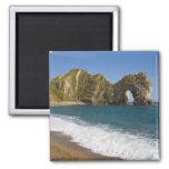 Durdle Door, Lulworth Cove, Jurassic Coast, 2 Inch Square Magnet