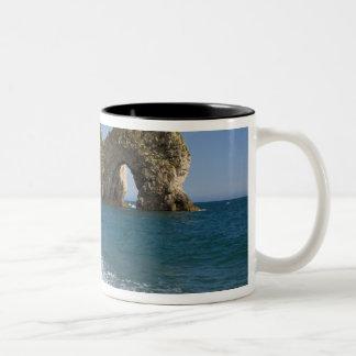 Durdle Door, Lulworth Cove, Jurassic Coast, Two-Tone Coffee Mug