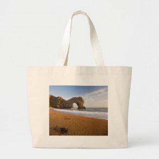 Durdle Door Rock Arch Dorset England Canvas Bags