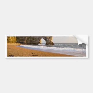 Durdle Door Rock Arch Dorset England Bumper Sticker