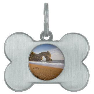 Durdle Door Rock Arch Dorset England Pet ID Tag