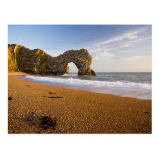 Durdle Door Rock Arch Dorset England Postcard
