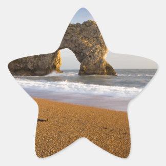 Durdle Door Rock Arch Dorset England Star Sticker