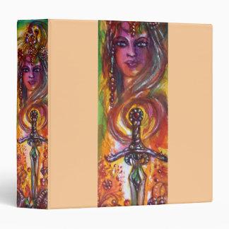 DURENDAL , ROMANTIC SWORD AND THE ANGEL 3 RING BINDER
