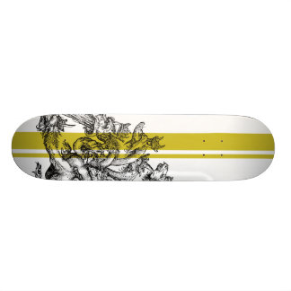Durer Dragon Stripe Skateboard Deck