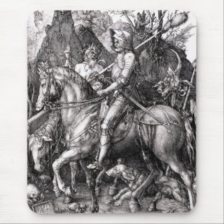 Durer Knight Death and the Devil Mouse Pad