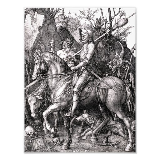 Durer Knight Death and the Devil Photograph