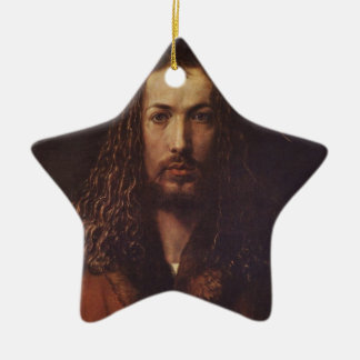 Dürer Portrait Ceramic Ornament