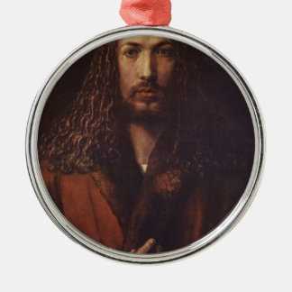 Dürer Portrait Metal Ornament