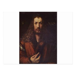 Dürer Portrait Postcard